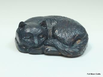 Sleeping Cat (Bronze)