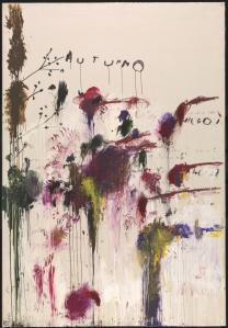 Quattro Stagioni: Autunno 1993-5 by Cy Twombly 1928-2011
