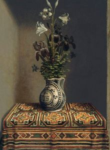 Hans Memling (1430–1494), Vase of Flowers (1480)