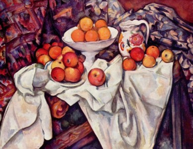 Paul Cézanne, Still Life with Apples and Oranges, 1895-1900