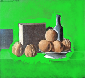 Morandi - Negative space