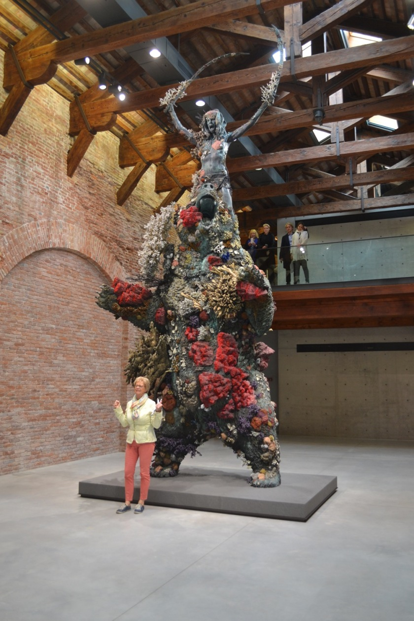The Warrior and the Bear, Damien Hirst