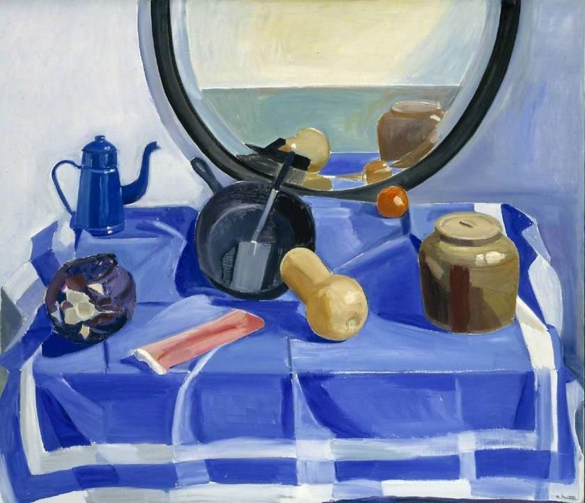 Matthiasdottir, Louisa, 1917-2000; Still Life with Frying Pan and Red Cabbage