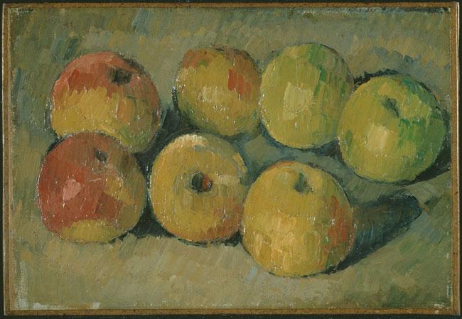 Paul Cézanne (1839 -1906), Still-life with apples