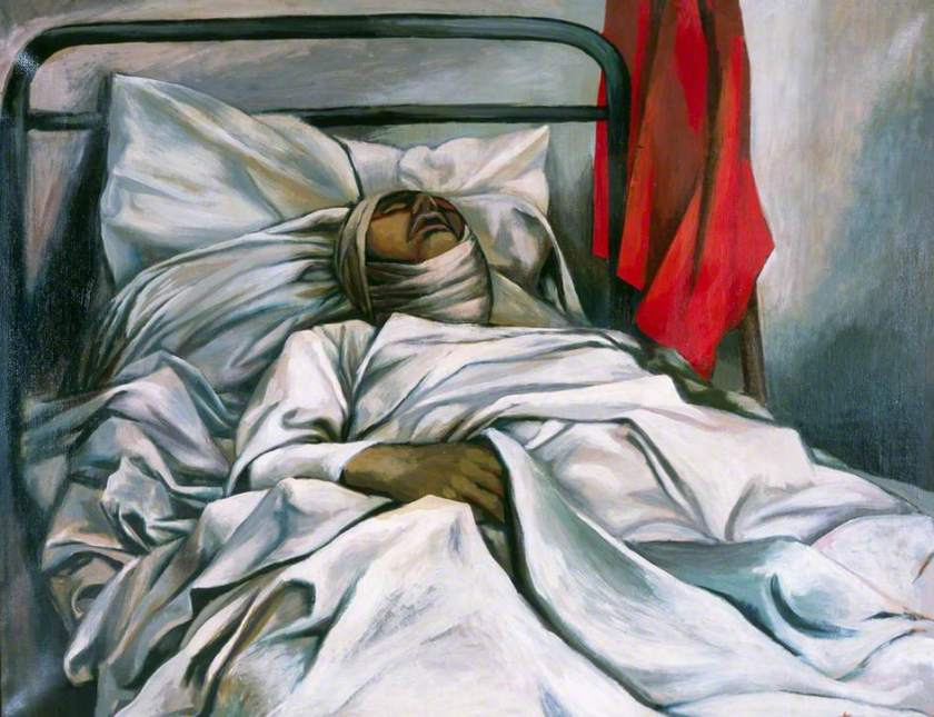 Guttuso, Renato, 1912-1987; Death of a Hero