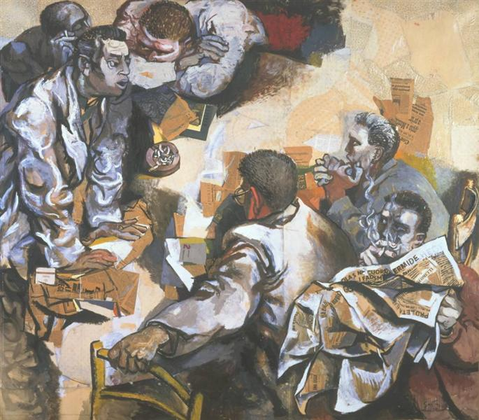 The Discussion, Renato Guttuso