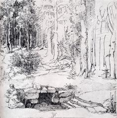 forest-glade-with-a-walled-fountain-by-which-two-men-are-sitting-1505large