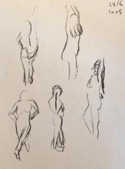 1min poses