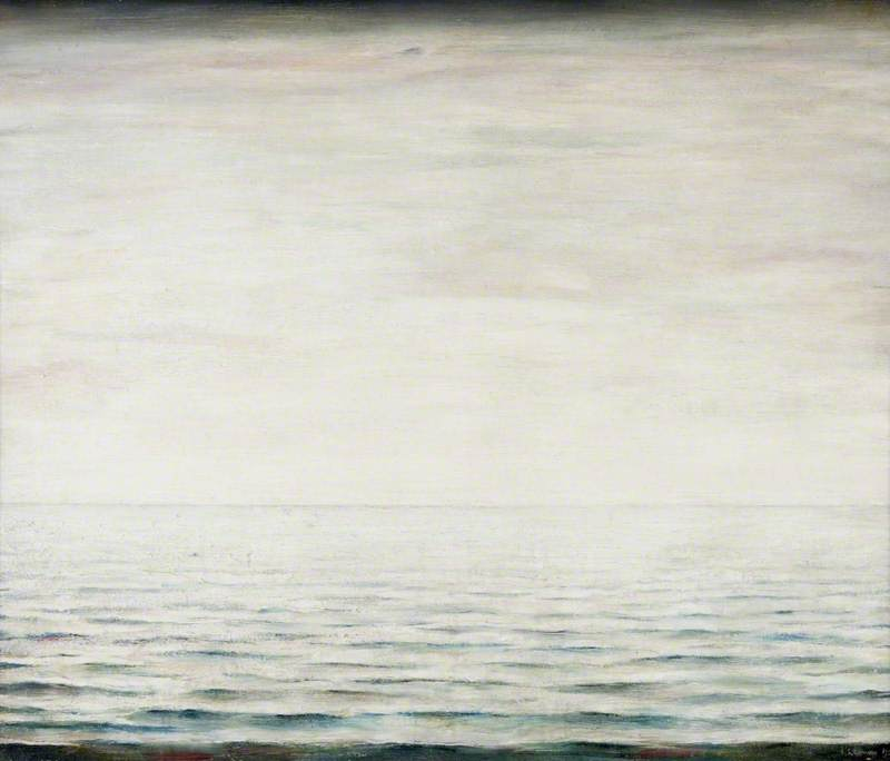 Lowry, Laurence Stephen, 1887-1976; Seascape