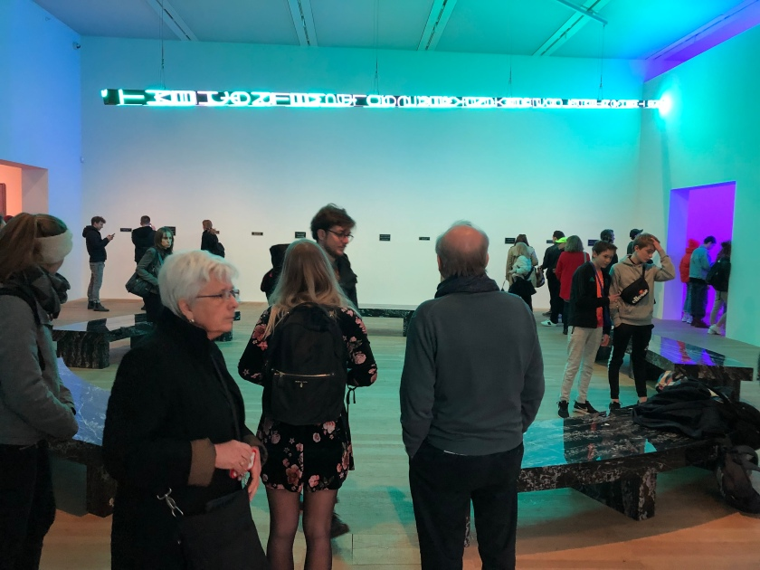 Jenny Holzer, Gallery Installation, Tate Modern